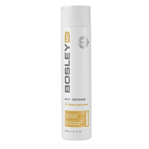Подхранващ балсам против косопад за обем 300 мл BOSLEY Defense Color Safe Volumizing Conditioner