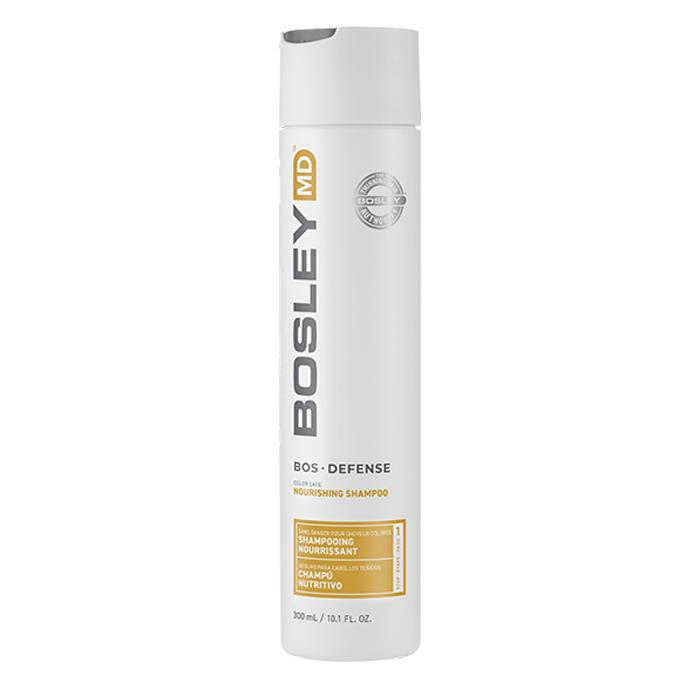 Безсулфатен подхранващ шампоан против косопад 300 мл BOSLEY Defense Color Safe Nourishing Shampoo