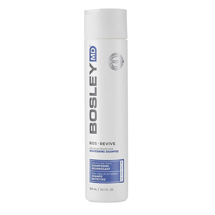 Безсулфатен подхранващ шампоан за тънка коса 300 мл BOSLEY Revive Nourishing Shampoo for Non Color-Treated Hair