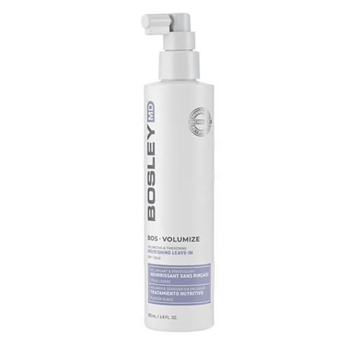Термозащитен подхранващ спрей за тънка коса 200 мл BOSLEY Volumize Volumizing & Thickening Nourishing Leave-In