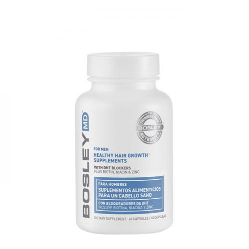 Хранителни добавки против косопад за мъже 60 бр BOSLEY Healthy Hair Growth Supplements for Men