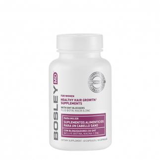 Хранителни добавки против косопад за жени 60 бр BOSLEY Healthy Hair Growth Supplements for Women