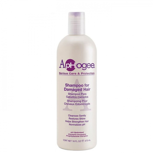 Шампоан за изтощена коса 473 мл ApHogee Damaged Hair