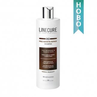 Шампоан с кератин за тънка и слаба коса 300 мл Linecure Pro Keratin Repair Shampoo