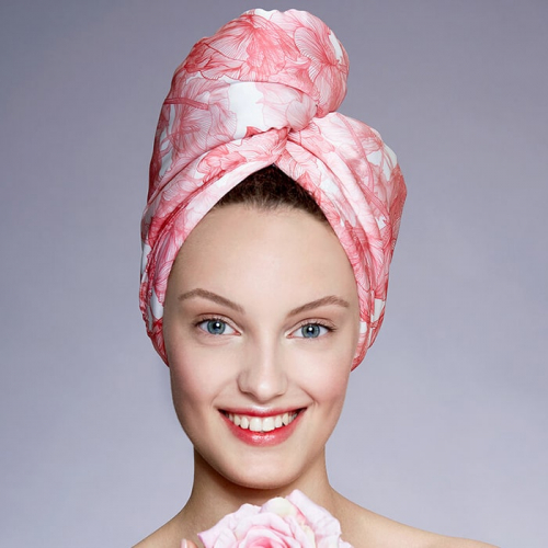 Дизайнерска кърпа за коса Aglique Alma памучна
