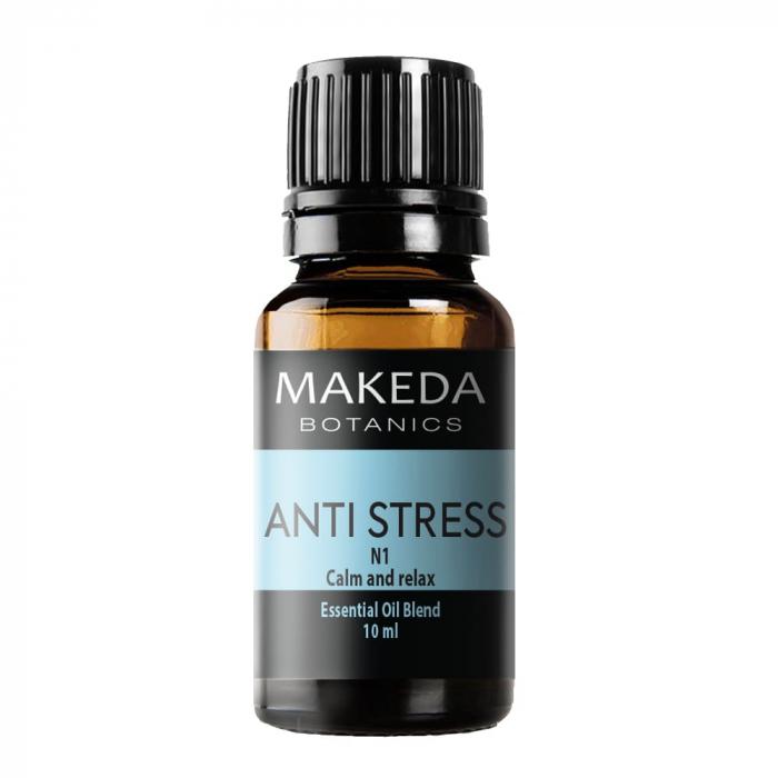 Композиция етерични масла при стрес  MAKEDA Botanics Anti stress N1 10 мл