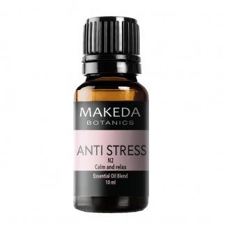 Композиция етерични масла при стрес  MAKEDA  Botanics  Anti stress N2 10 мл