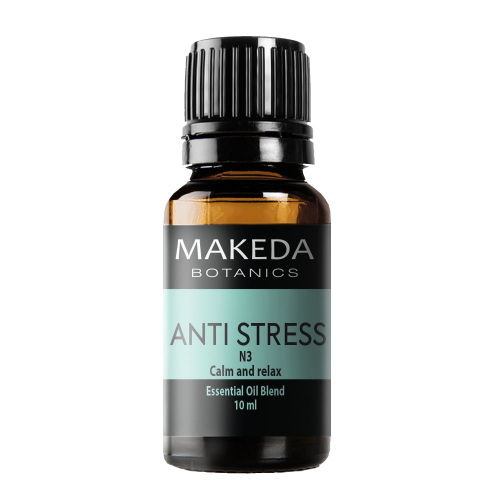 Композиция етерични масла при стрес  MAKEDA Botanics Anti stress N3 10 мл