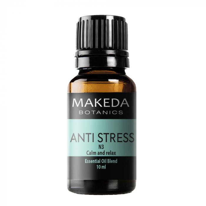 Композиция етерични масла при стрес  MAKEDA Botanics Anti stress N3 10 мл