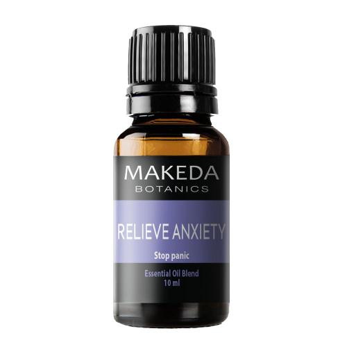 Композиция етерични масла при тревожност MAKEDA Botanics Relieve Anxiety 10 мл