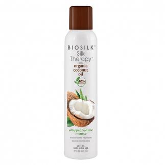 Пяна за обем с органично кокосово масло 237 мл BioSilk Silk Therapy Coconut Oil Whipped Volume Mousse