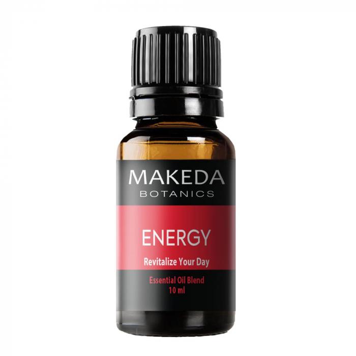 Композиция етерични масла за енергия MAKEDA Botanics Energy 10 мл