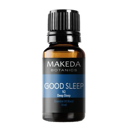 Композиция етерични масла при безсъние MAKEDA Botanics Good Sleep Deep Sleep N2 10 мл
