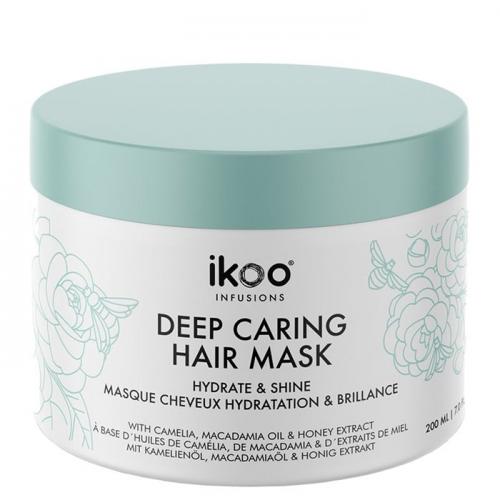 Маска за хидратация и блясък 200 мл IKOO Deep Caring Mask Hydrate and Shine