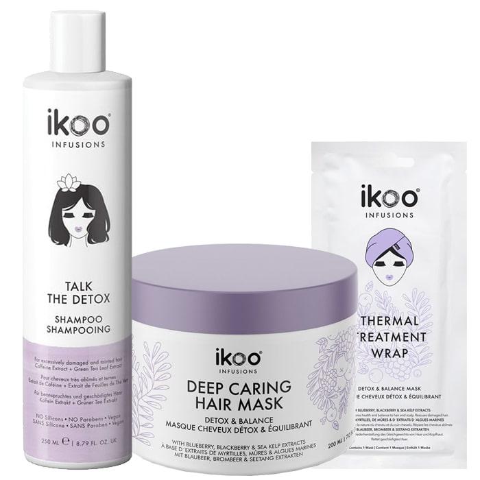 Комплект за детокс на косата и скалпа IKOO Talk the Detox