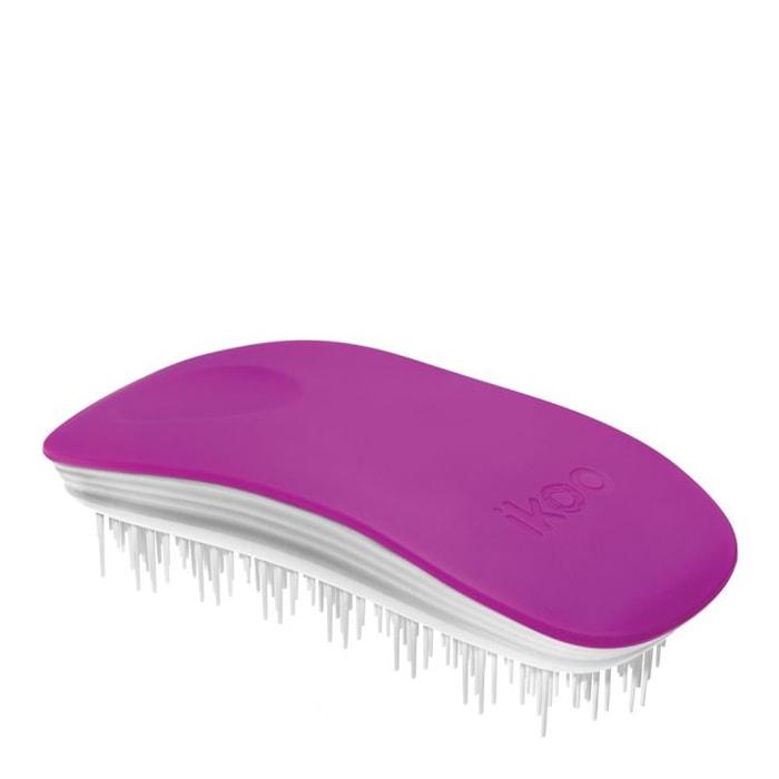 Четка за коса IKOO Sugar Plum (бяла основа)