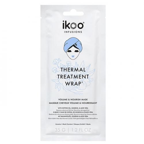 Маска шапка за обем и подхранване на косата IKOO Thermal Treatment Wrap