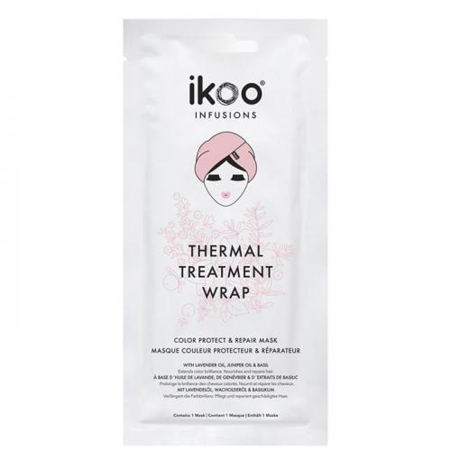 Маска шапка за защита и възстановяване на боядисана коса IKOO Thermal Treatment Wrap
