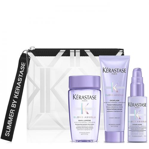 Комплект за път за руса коса Kerastase Blond Absolu Travel Set