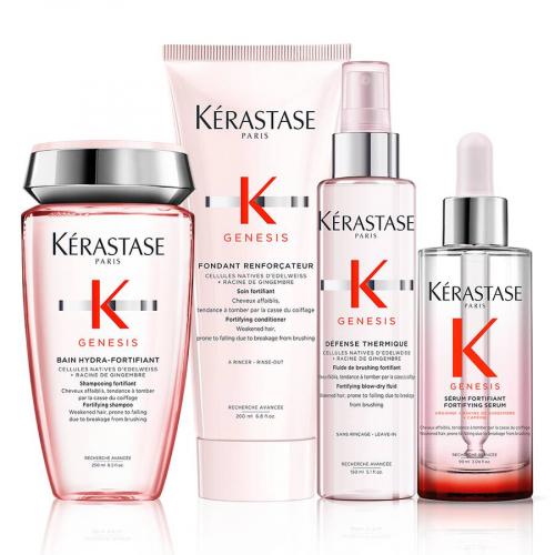 Комплект за тънка и склонна към омазняване коса Kerastase Genesis