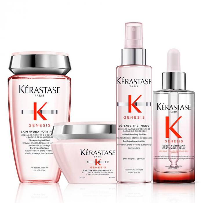 Комплект за нормална до мазна тънка коса Kerastase Genesis