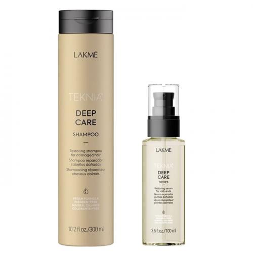 Комплект за възстановяване на изтощена коса LAKME Deep Care