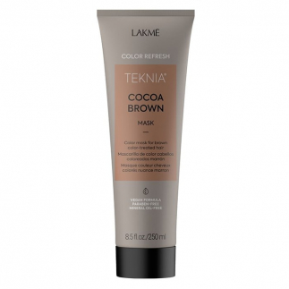Оцветяваща маска за брюнетки 250 мл LAKME Refresh Cocoa Brown Mask