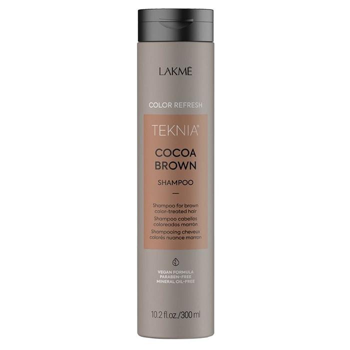 Оцветяващ шампоан за брюнетки 300 мл LAKME Refresh Cocoa Brown Shampoo