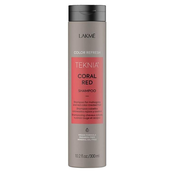 Оцветяващ шампоан LAKME Coral Red Shampoo 300 мл