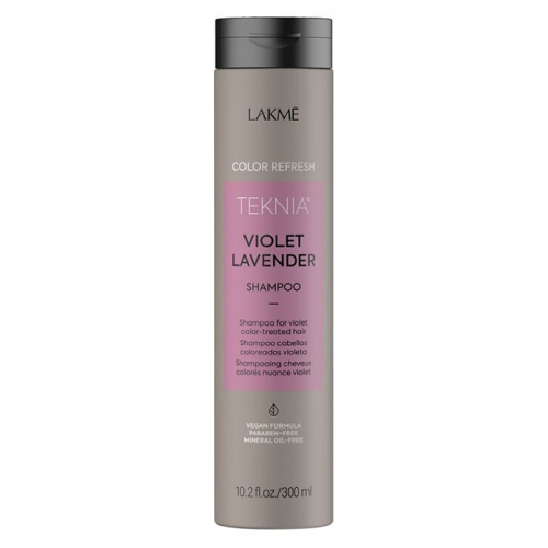 Оцветяващ шампоан за коси в лилави тонове 300 мл LAKME Refresh Violet Lavender