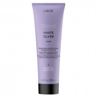 Озаряваща маска за руса коса LAKME White Silver Mask 250 мл