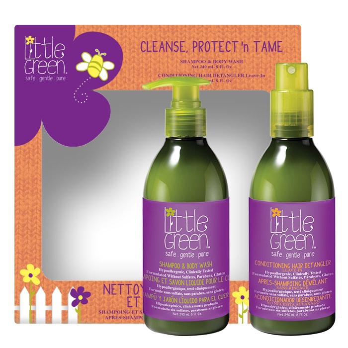 Комплект за деца Little Green Cleanse Protect Tame