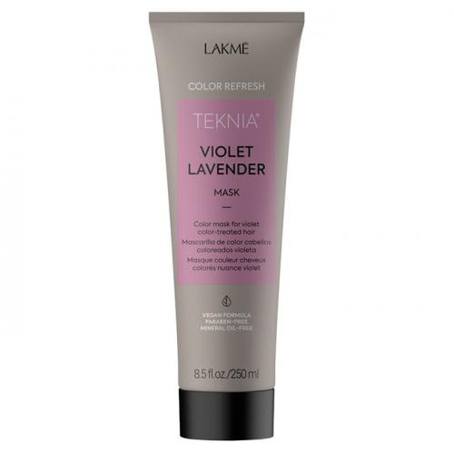 Оцветяваща маска за коси в лилави тонове 250 мл LAKME Refresh Violet Lavender