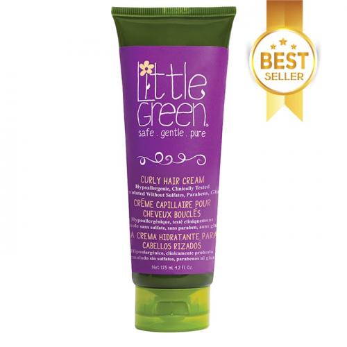 Подхранващ крем за разкошни къдрици Little Green Kids Curly Hair Cream 125 мл