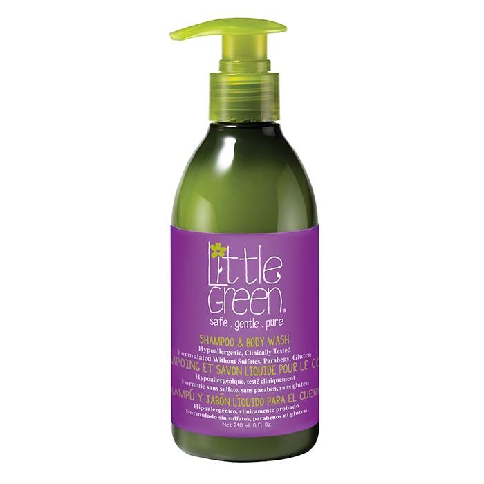 Шампоан за коса и тяло за деца Little Green Kids Shampoo&Body Wash 240 мл