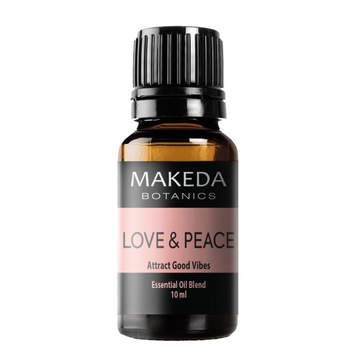 Композиция етерични масла за хармония MAKEDA Botanics Love & Peace 10 мл