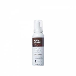 Оцветяваща сметана за коса в топло кестеняво 100 мл Milkshake Colour Whipped Cream