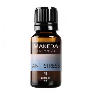 Композиция етерични масла при стрес  Мakeda Botanics  Anti stress N2 10 мл