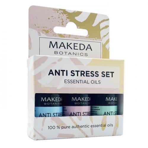 Комплект за ароматерапия Anti Stress Set MAKEDA Botanics