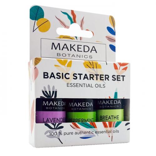 Комплект за ароматерапия Basic Starter Set MAKEDA Botanics