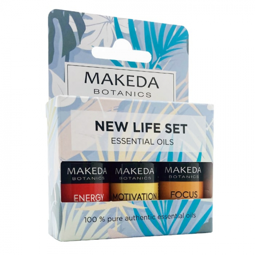 Комплект за ароматерапия New Life Set MAKEDA Botanics