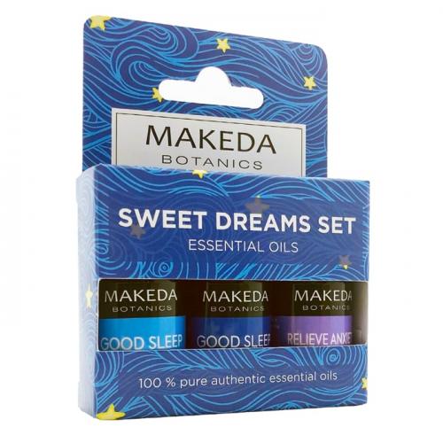 Комплект за ароматерапия Sweet Dreams Set MAKEDA Botanics