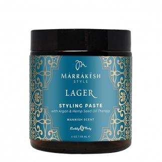 Стилизираща паста за мъже със средна фиксация 113 гр Marrakesh Men's Lager Styling Paste