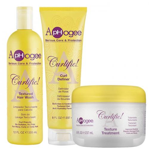 Комплект за оформяне на къдрава коса ApHogee Curlific