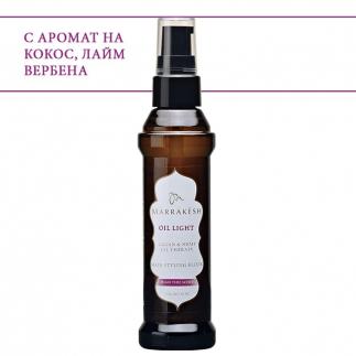 Лек еликсир с конопено и арганово масло 60 мл Marrakesh Oil Light Hair Styling Elixir High Tide