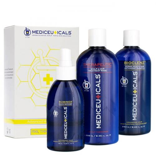 Уплътняващ комплект за стимулиране на растежа на тънка коса Mediceuticals Advanced Hair Restoration Kit
