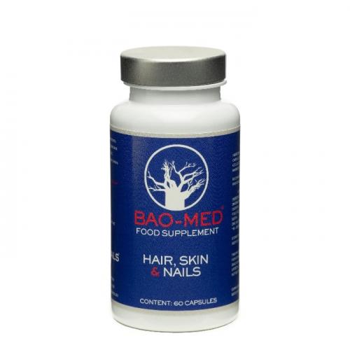 Хранителни добавки за здрави коса, кожа и нокти 60 бр Mediceuticals Bao-Med Food Supplement