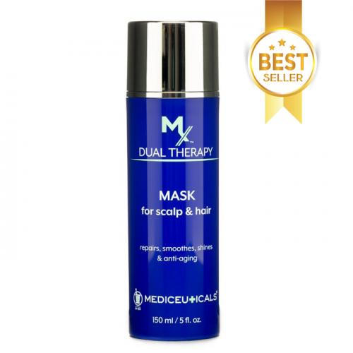 Стимулираща маска за растеж на косата 150 мл Mediceuticals MX Dual Therapy