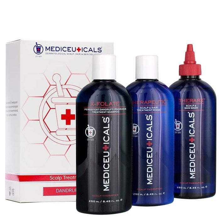 Комплект против пърхот Mediceuticals Scalp Treatment Kit - Dandruff