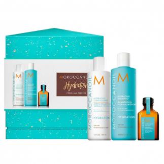 Хидратиращ комплект за всеки тип коса Moroccanoil Hydration From All Angles